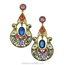 hot sale fashion jewelry fashion earring,funky stud earrings,old fashion earrings