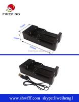 fireking xxc-988 flashlight bailong charger mirco usb 5pin 18650 charger