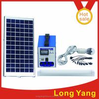 China home solar power system off grid 6w/12v solar lighting system for home lighting