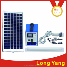 China home solar power system off grid 6w/12v solar lighting system for home lighting