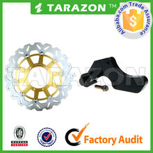Offroad Dirt Bike Oversize 320mm Floating/Waving Brake Disc With Bracket Parts For YAMAHA YZ125