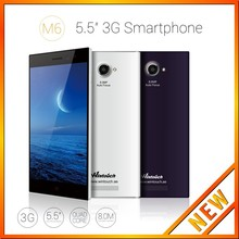 8 Mega Pixel 3G Android 4.4 5.5 inch android phone quad core 6 inch With RAM 1GB ROM 8GB