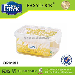 2013 new design Plastic food storage box