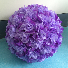new design high imitation purple rose Flower Ball Free shipping Factory Directly