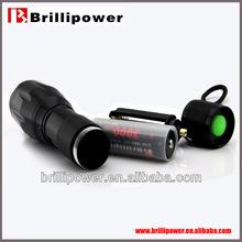 Ultrafire green led flashlight cree xm-l t6 led flashlight 3.7V 1000 lumen cree led flashlight