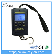 digital crane scale 40kg spring hanging scale portable luggage weighing scale
