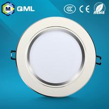 CE RoHS approved led ceiling down lighting 3w 5w 7w 9w 12w 15w 18w aluminum+acrylic