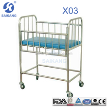 medical bed for children/cribs baby with wheels
