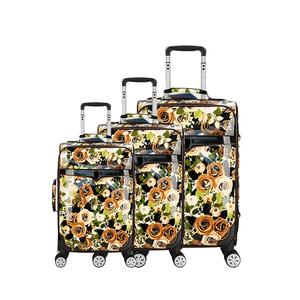 20 24 28 дюймов искусственная кожа Индивидуальные Rolling Spinner чемодан дорожные сумки чемодан для мужчин женщин