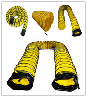"4""-60"" Fire resistant air ventilator flexible duct"