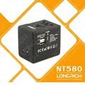 2014 venda quente luxo macho para fêmea adaptador de tomada elétrica( nt580)