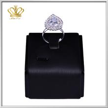 latest designs fashion smart wedding ring silver plated metal welding rhinestone diamond o finger ring fashion jewelry