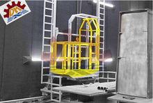CE descaling sandblasting machine for stones