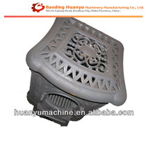 OEM GG20 Sand Casting grey iron fireplace