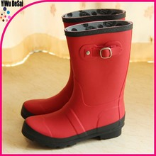 new arrival children colorful cheap clear rubber boots