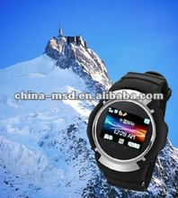 2012 first exact GPS tracking/loaction watch devices with function of touch screen, 4gb card,camera,sms