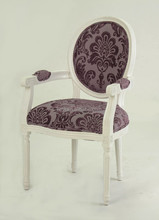 Hot sell Classic Wooden Carved Louis XVI Fabric dining /Living/leisure chair(CH-904)