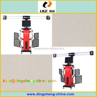 High precision Auto diagnosis software 3d wheel alignment machine with good price DS6