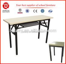 adjustable single student desk and chair Folding School Desk