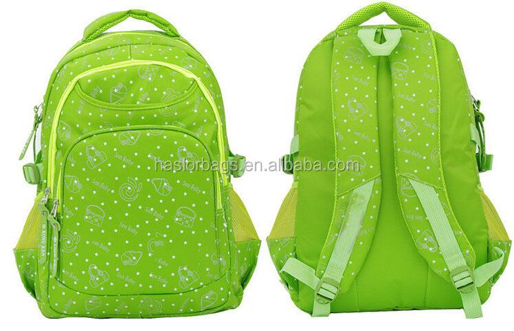 Mode bonne impression fille de l'école sacs en vente