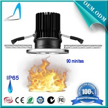 Newest Product 5w 8w 10w dimmable cob fire rated ip65 high power led downlight with 60mm cutout