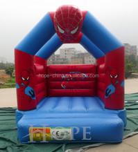Inflable spider man gorila con mini slide / infaltable gorila