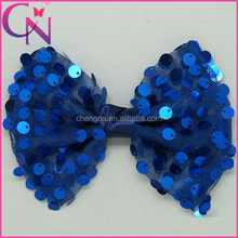 Sequin Mesh Hair Bows With Alligator Clip Glitter Hair Accessories
