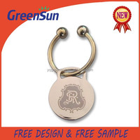 Silver Color Keychain