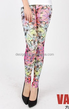 custom velvet leggingsdecorative legging, pvc legging