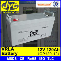 high power 1ah~250ah battery,12v 120ah vrla battery