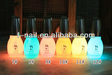 luminoso de esmalte de uñas de fengshangmei