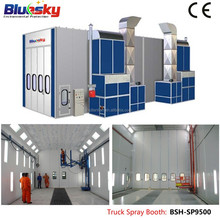 CE approved high quality portable cabins used/big spray booth/truck spray booth