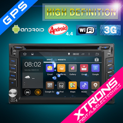 """TD626AS-6.2"""" HD Android 4.4.4 KitKat Quad-Core Digital Multi-touch Screen 1080P Video Wifi Car Radio"""
