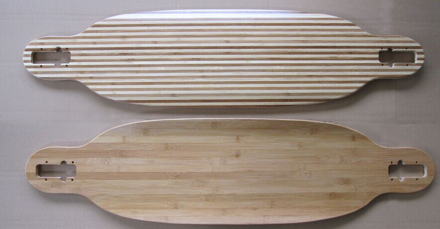 Blank Skateboard Bamboo Skateboard Parts Blank