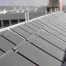 Competitive price high efficient absorber hot water heating flat plate solar collector