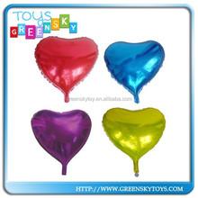 "19"" Made In China Balloon Decoration Heart Shape Balloon"