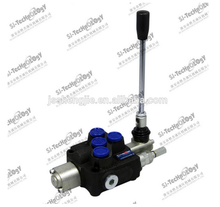 Hydraulic monoblock directional control valve concrete mixer 50LPM 1 lever wagon mixer control /wagon mixer control valve