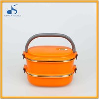 Freshness Preservation Food grade PP and stainless steel lunchbox for school