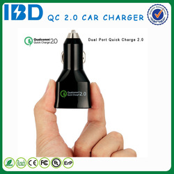 China supply Custom usb car charger dual 9v 2a fast auto charger for Kyocera Urbanno LO3