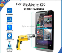 mobile phone accessory tempered glass screen protector for blackberry z10