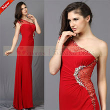 rojo cy71352 vestidos de encaje vestidodenoche con piedras