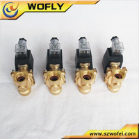 China Manufacture 3/4 NPT 12VDC normally open solenoid valve