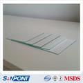 SANPONT directa del fabricante de Silicon Gel preparativo Placa Base Glass