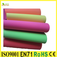 SGS&EN71 Aprroved Stationery Set Goma Bright Color EVA Foamy Sheet Kids DIY Craft for Christmas Gift