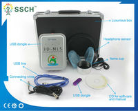Newest product for portable 3D-MRA Non-linear human body health analyzer