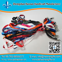 wholesale promotional products polypropylene lanyard factory price festival gifts crafts christmas decorations 2014