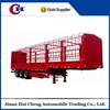 Customized avaliable 3 axle stake house cargo fence semi trailer for sale