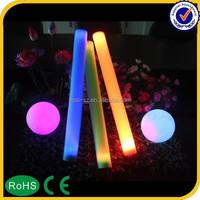 2015 party supply wholesale light up led flashing foam stick