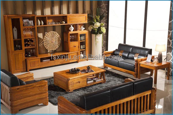 Antique wooden hall furniture set antique sofa set for Sofa set designs for hall