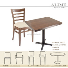 Alime modern hotel chairs and tables